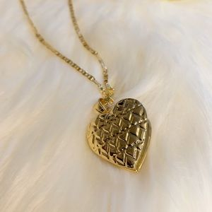 chain with heart charm